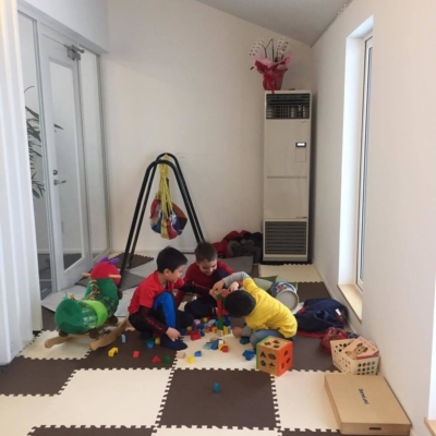 Mandriano Pizza Kids Playroom