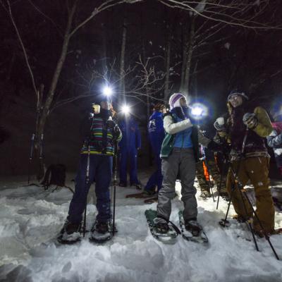 Nac Snowshoeing Niseko Night Snowshoe 3