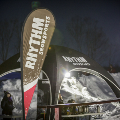 Niseko Rail Jam Judges Tent