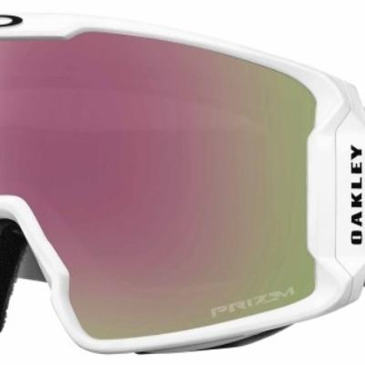Oakley Prizm Inferno Line Miner Matte White Hi Pink Lens