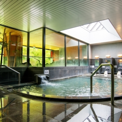 One Niseko Resort Towers Onsen Indoor Bath 1