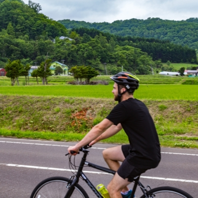 Rhythm Bike Tour At Lake Toya Summer 2017 Bicycle Cycling 15