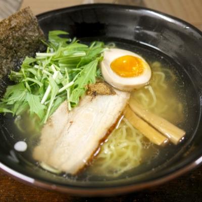 Shio Ramen Salt Broth Hokkaido Noodles Japanese Food