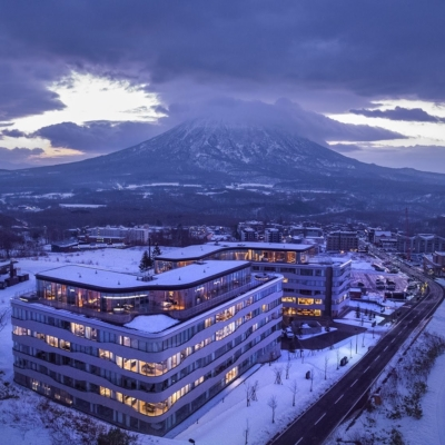 Skye Niseko winter nights
