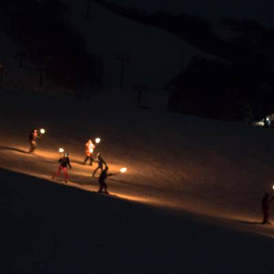 Torchlight Skiing New Year's Eve 2018​