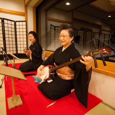 33. Watch a shamisen performance