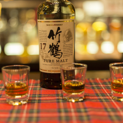 Yoichi Distillery Nikka Whiskey In Shot Glasses