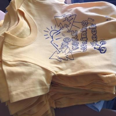 Yuichi Hasegawa Making Niseko T-shirts 3