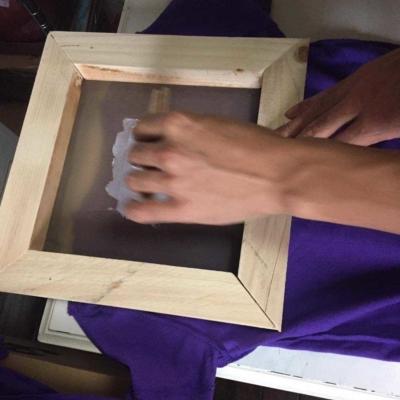 Yuichi Hasegawa Making Niseko T-shirts 9