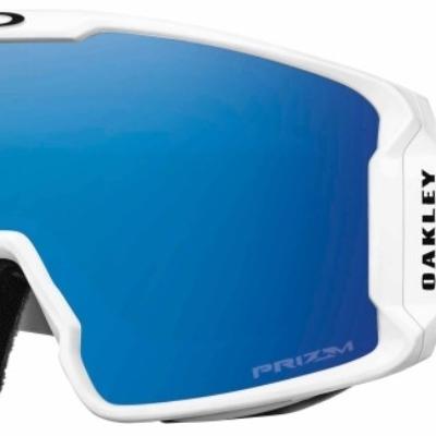 Oakley Prizm Inferno Line Miner Matte White Sapphire Lens