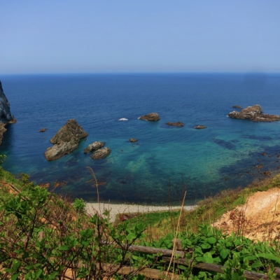 The Shimamui Coastline in Shakotan