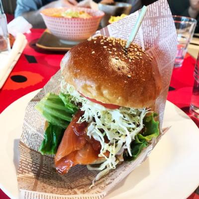Sevenstars Cafe Hamburger