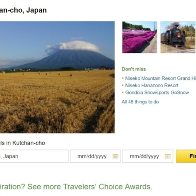 Trip Advisor Top 10 Japan Destinations Kutchan Town