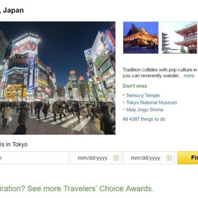 Trip Advisor Top 10 Japan Destinations Tokyo