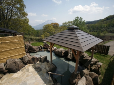 Weiss Hotel Onsen Outdoor Rotenburo Pool Summer