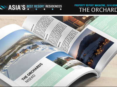 Property Report Marketing Best Asia Resort Residence The Orchards Niseko Open Magazine