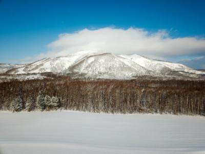Drone Mt Annupuri Winter Blue Skies 01 11 18 1