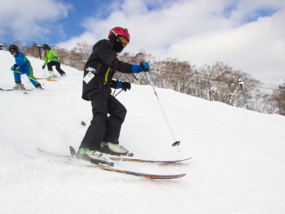 Gcp Stock Image Winter First Timers Ski Lesson
