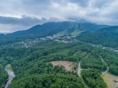 Ginto Village Drone Shot Mtb Mountain Bike Trail Summer 2017