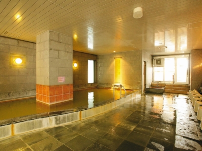 Hotel Niseko Alpen Onsen Indoor Bath