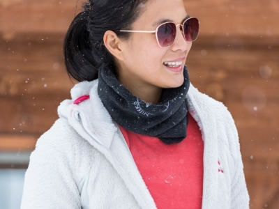 Isabelle Daza Experience Niseko Ski Lesson Winter Filipino Model Actress Celebrity 1