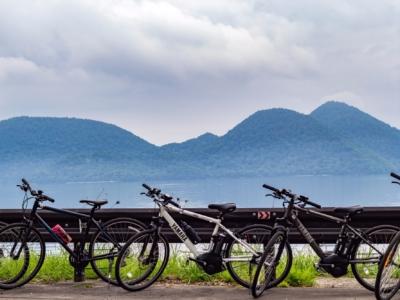 Rhythm Bike Tour At Lake Toya Summer 2017 Bicycle Cycling 13
