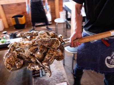 寿都の牡蠣