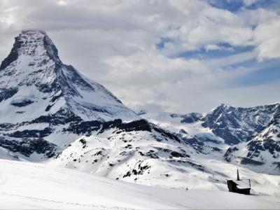 Winter Switzerland Matterhorn Zermatt