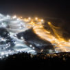 Night Ski Lights Grand Hirafu 01 24 18 2