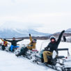 Snowmobiling White Isle 1