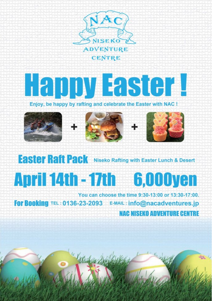 Easter Ing Raft Nac 2017 April Raft Poster Flyer Event
