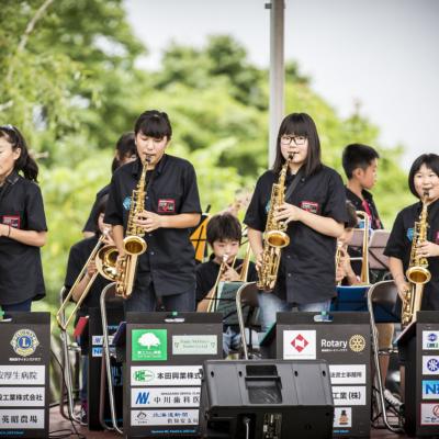 Hirafu Matsuri 2016 Summer Festival 10 Yotei Jass Band