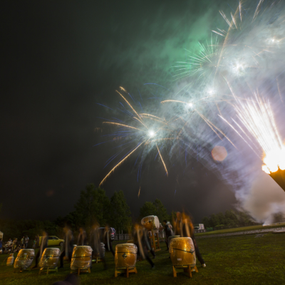 Hirafu Matsuri 2016 Summer Festival 14 Fireworks And Taiko Drums