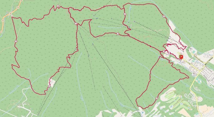 Nac Trail Race Map
