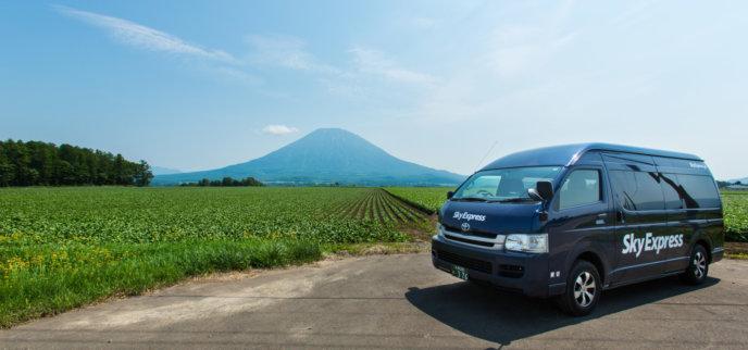 Sky Express Hi Ace Mt Yotei Summer Yasuyuki Shimanuki
