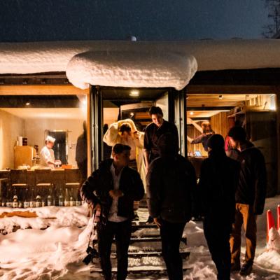 Niseko Sakura restaurant exterior