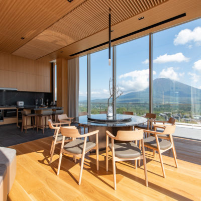 Skye Niseko Yotei West Penthouse Interior Living Room