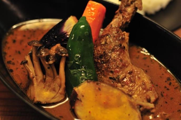 A spicy bowl of Tsubara Tsubara soup curry!