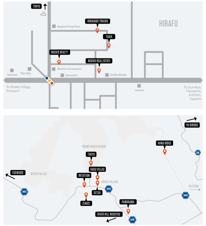 2945 Experience Niseko Homes Vol 2 Spreads Advertisers Map